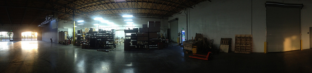Panorama picture of Printrbot HQ