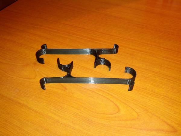Hooks for Ikea Svarta bed