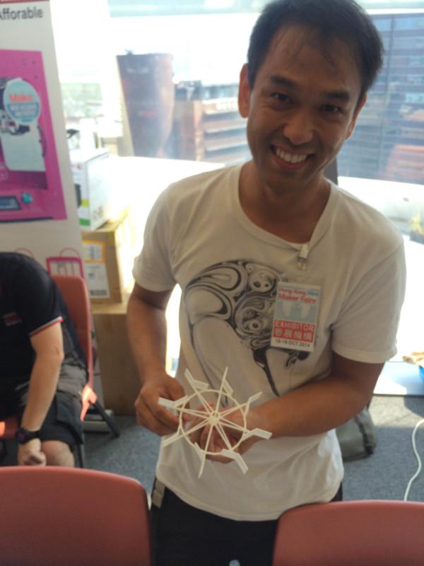 Eric Chan Architect & 3d printing designer