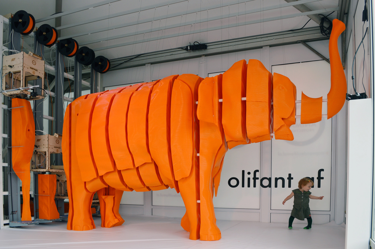 3D-printed-elephant-Joris-van-Tubergen