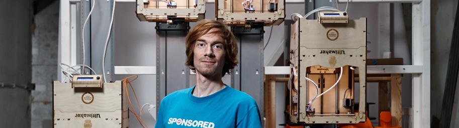 Joris van Tubergen - designer, inventor and 3D printing innovator