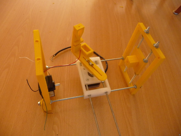 Karijn Wessin's open source 3D printable eggbot