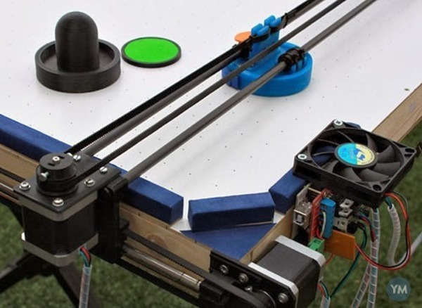 Open Source Air Hockey Robot