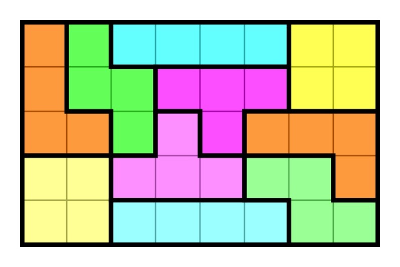 5×8 rectangle