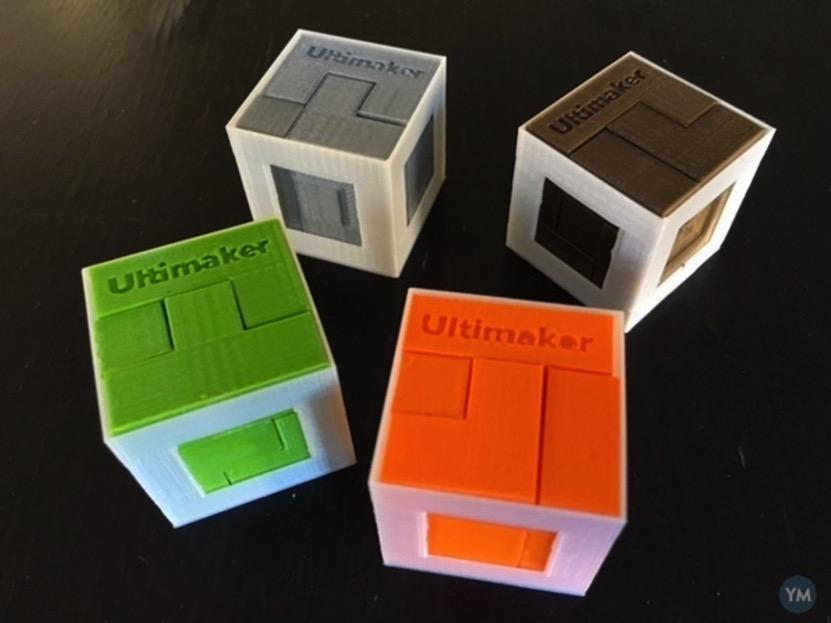 Cube Puzzle Quartet by mathgrrl YouMagine 🎲