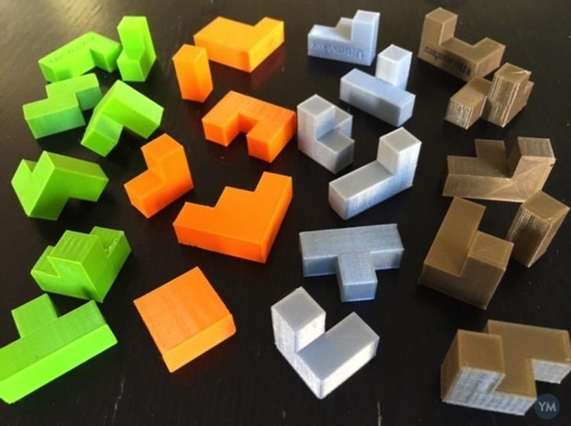 Cube Puzzle Quartet by mathgrrl 2 YouMagine